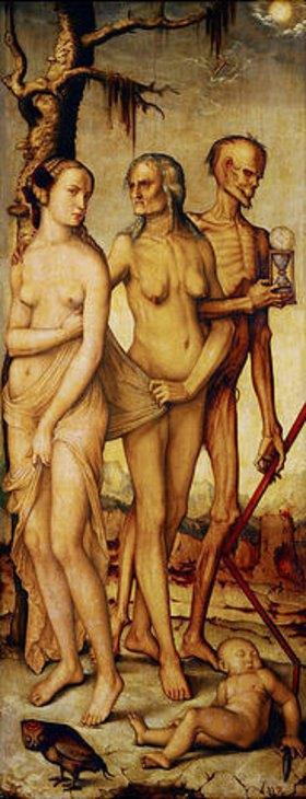 Hans Baldung (Grien): Allegorie auf die Jugend, das Alter und den Tod