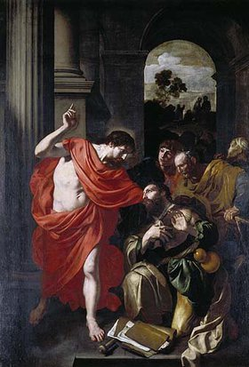 Gerard Douffet: Christus erscheint dem Jakobus