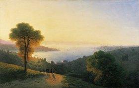 Konstant.Iwan Aiwassowskij: Blick auf den Bosporus von der europäischen Seite