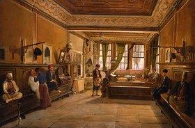 Frans Vervloet: Beim Frisör, Konstantinopel
