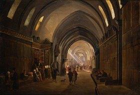 Frans Vervloet: Die Tuchhändler in Basar von Konstantinopel