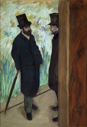 Edgar Degas: Freunde hinter den Kulissen