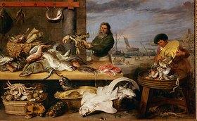 Frans Snyders: Ein Fischmarkt. (Die Figuren von Cornelis de Vos)