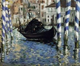 Edouard Manet: Canal Grande in Venedig. 1875