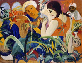 August Macke: Orientalische Frauen