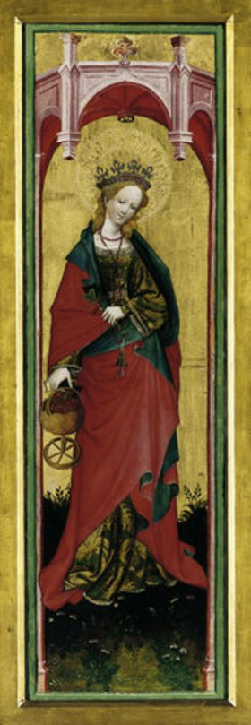Konrad von Soest: Die Hl. Dorothea. Nach