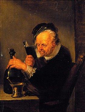 Johann Peter von Langer: Der lesende Chemiker