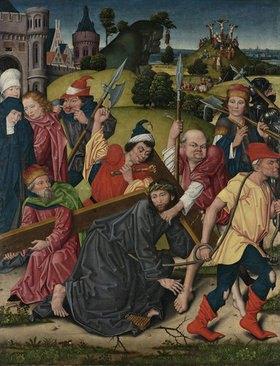 Derick Baegert: Kreuztragung Christi