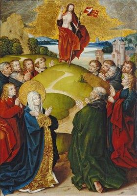 Jan Baegert: Altar aus der Kirchspielkirche in Liesborn. Himmelfahrt Christi