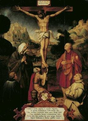 Hermann tom Ring: Christus am Kreuz