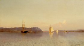 Francis Augustus Silva: Late Afternoon, Haverstraw Bay