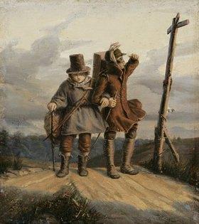 Friedrich Wilhelm Büchtemann: Die Münsterschen Bänkelsänger Flör und Kösters