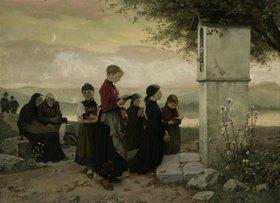 Hubert Salentin: Abendgebet (Das Gebet an der Kapelle)