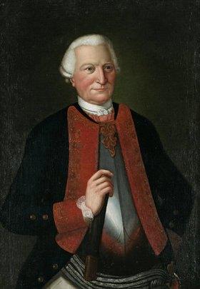 Unbekannter Künstler: Bildnis Karl Friedrich Freiherr von Wolffersdorff