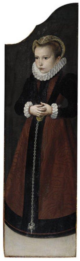 Niederländischer Meister: Bildnis eines Mädchens
