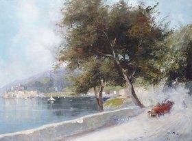 Oscar Ricciardi: Autorennen am See (Corsa Sul Lago)