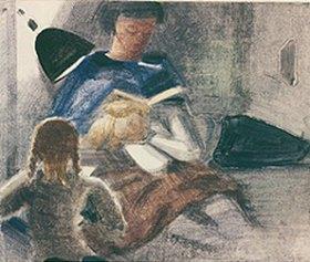 Oskar Schlemmer: Die Lesestunde