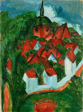 Ernst Ludwig Kirchner: Burg auf Fehmarn