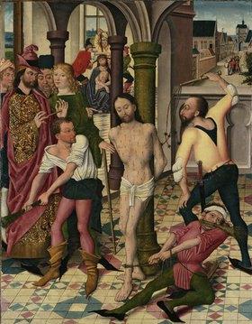 Derick Baegert: Geißelung und Dornenkrönung Christi