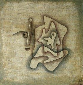 Paul Klee: Der Hörende