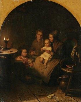 Johann Georg Meyer: Das erste Gebet
