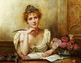 George Goodwin Kilburne: Der Brief