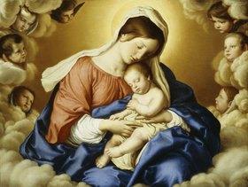 Giovanni Battista (Sassoferrato) Salvi: Madonna mit Kind