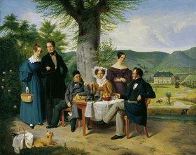 Heinrich Franz Gaudenz von Rustige: Die Familie Farina