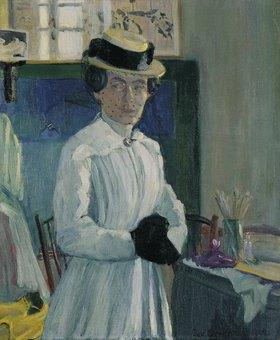 Ida Gerhardi: Selbstbildnis