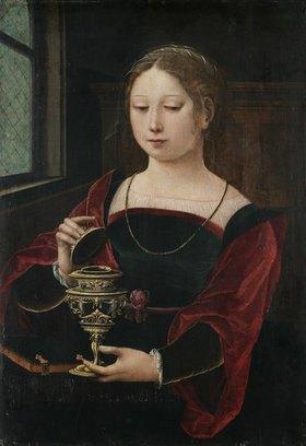 Meister der weibl. Halbfiguren: Heilige Maria Magdalena