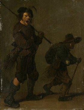 Pieter Jansz Quast: Zwei Schornsteinfeger