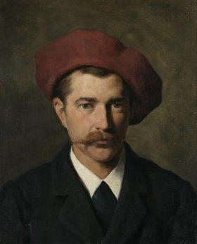 Ludwig von Zumbusch: Joseph Wopfner.,Maler, Bildnis