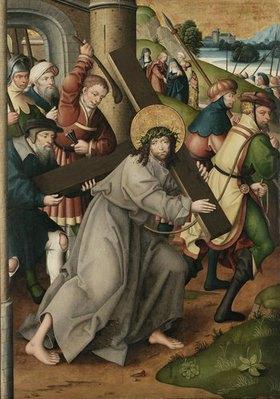 Jan Baegert: Altar aus der Kirchspielkirche in Liesborn. Kreuztragung Christi