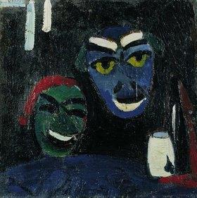 Hermann Stenner: Masken