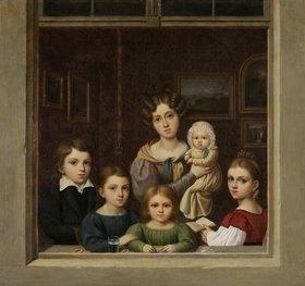 Karl Josef Raabe: Die Kinder des Malers Carl Gustav Carus