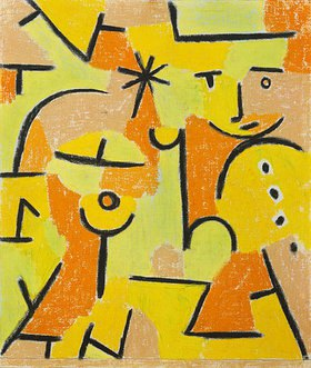Paul Klee: Figur in gelb