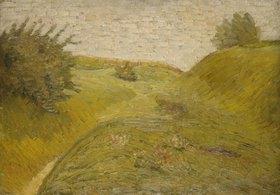 Wilhelm Morgner: Hügelige Felder
