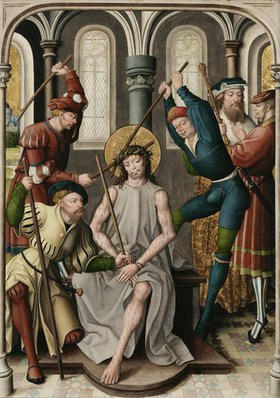 Jan Baegert: Altar aus der Kirchspielkirche in Liesborn. Dornenkrönung Christi