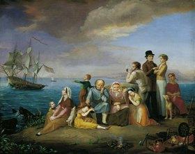 Friedrich Wilhelm Harsewinkel: Die Auswanderer nach Amerika