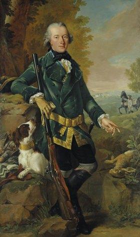 Johann Heinrich Tischbein: Bildnis Freiherr Emilius Ulrich von Donop