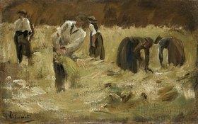 Max Liebermann: Getreideernte