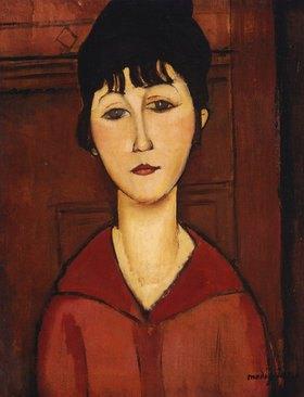 Amadeo Modigliani: Portrait eines junges Mädchens