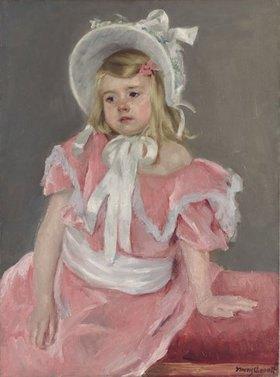Mary Cassatt: Sara, auf ihre linke Hand gelehnt