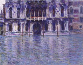Claude Monet: Palazzo Contarini. 1908