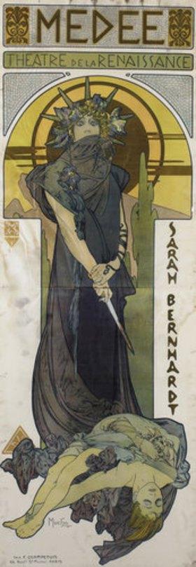 Alfons Mucha: Medea
