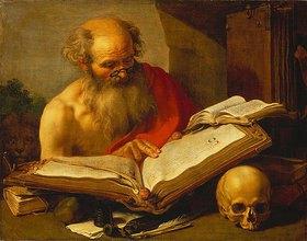 Hendrick Bloemaert: Der heilige Hieronymus