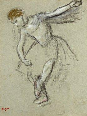 Edgar Degas: Eine Tänzerin im Profil