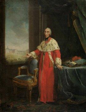 Johann Heinrich Wilhelm Tischbein: Der Kölner KurfürstMaximilian Friedrich von Königseck-Rothenfels, Bildnis