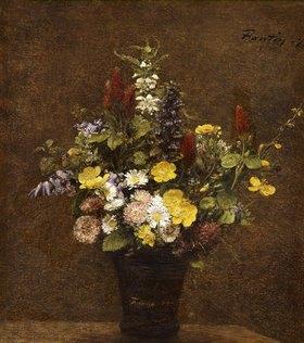 Henri de Fantin-Latour: Wiesenblumen