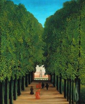 Henri Rousseau: Die Allee im Park von St. Cloud